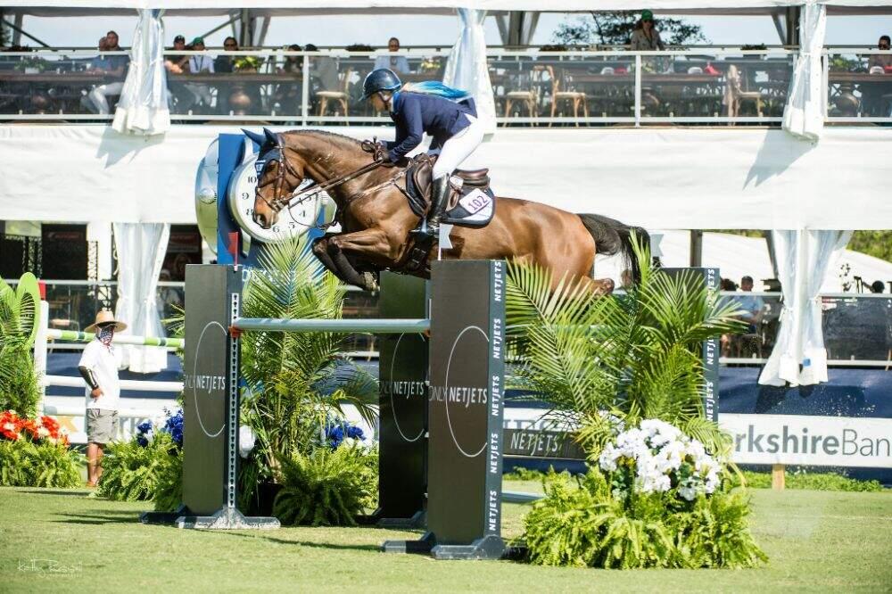 EREINA Wins $72,000 NetJets Classic at CSIO5* CP Palm Beach Masters