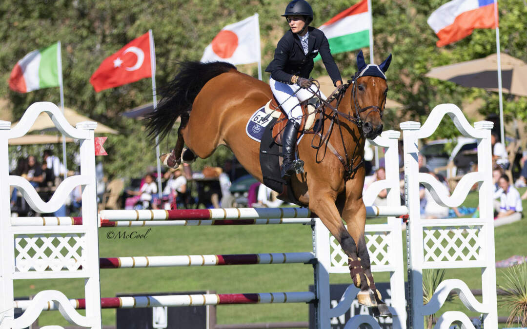 Carly Anthony And Chacco Are Victorious In $25,000 Markel Insurance Grand Prix