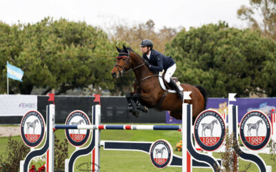 Cassio Rivetti and Queen Take 2nd Place in the FEI CSI2* Power & Speed at Showpark Ranch & Coast Classic