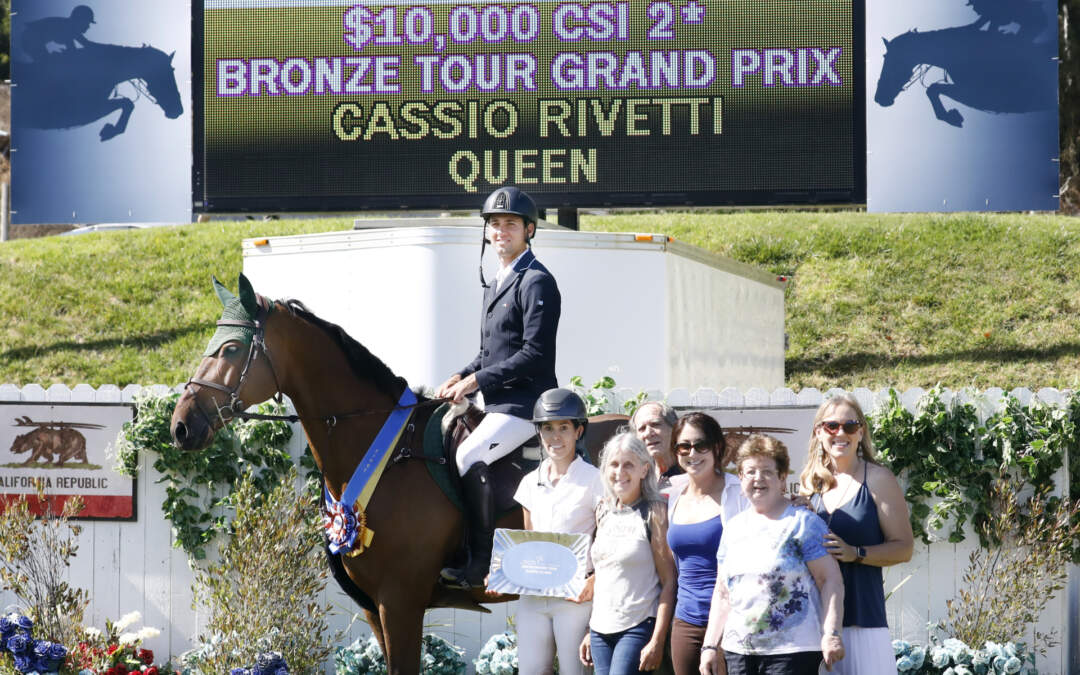 Cassio Rivetti Wins FEI CSI2* Bronze Tour Classic