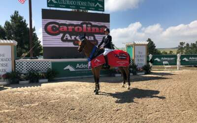 Carly And Cassio Finish One, Two in $25,000 Carolina Arena Equip. Welcome Grand Prix