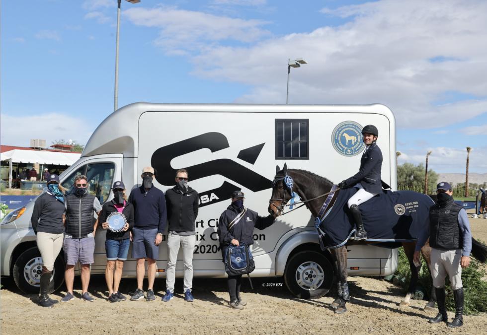 Cassio Rivetti And Genesis Are Champions In The $250,000 STX Vans Grand Prix