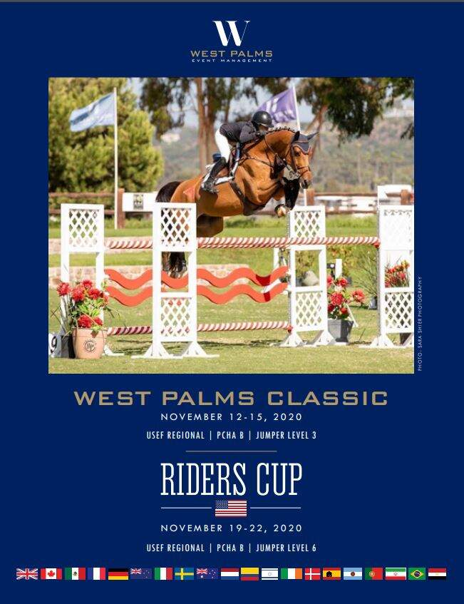 Riders Cup Prize List Cover