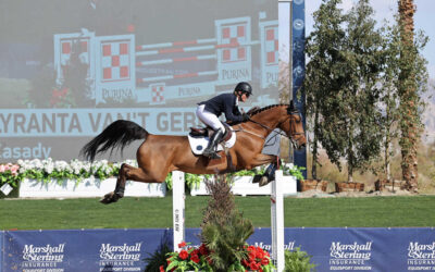 Shawn Casady And Lyranta Van't Gebroekt Win Marshall & Sterling $75,000 Grand Prix